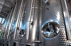 vendita di vino sfuso